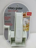 Good Cook Brand Rotary Grater Kitchen White Plastic Stainless Steele New  #15627