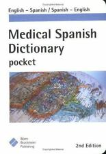 Medical Spanish Dictionary Pocket: English-Spanish, Spanish-English