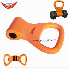 Portable Kettlebell Weight Grip Travel Workout handle Equipment Gear F Home Gym