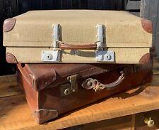 Vintage Revelation Luggage Suitcase, Great Decorators Piece