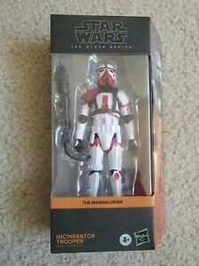 "HASBRO Star Wars Black Series Incinerator Trooper 6"" In Hand!!"
