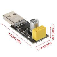 USB zu ESP8266 Seriell Modul TTL Wifi ESP-01 CH340G Entwicklung Board Adapter DE
