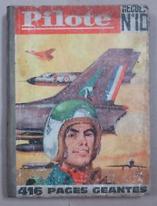PILOTE Album No 10. 1962, 416 Pages from No 119 to 131