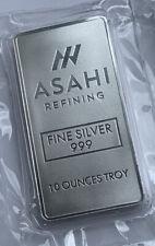 10oz 999 Silver Bar Asahi Mint Sealed Great Bar