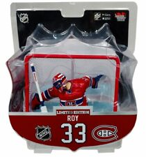 Patrick Roy Montreal Canadiens with Net Imports Dragon NHL Figure L.E. of 2350