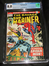 Sub-Mariner #69 (1968) CGC 8.0 Spider-Man, Doctor Strange, The Force appearance!
