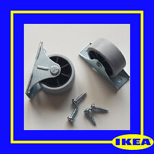 111401 (109049) X 2 IKEA WHEEL Castor for HEMNES Day Bed Sofa -  100% Genuine