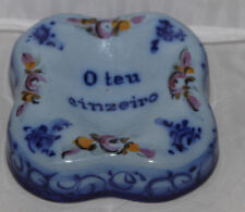 Pedro's Alcobaca Portugal Ceramic Your Ashtray O Teu Cinzeiro
