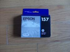 2017 OEM EPSON #157 Lt Black ULTRACHROME K3 INK T1577 STYLUS PHOTO R3000 T157720