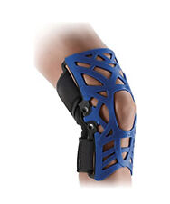 Donjoy REACTION Web Knee Support Brace W Compression Undersleeve Blue XL-XXL 2XL