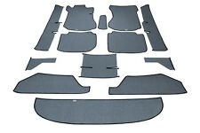 Mercedes Benz W114 W115 Sedan Complete Loop Carpet Set  13 pieces BLACK