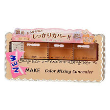 [CANMAKE] 02 NATURAL BEIGE Mixing Color Concealer 3 Shades Palette SPF50 PA++++