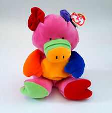 Baby Ty Little Piggy Pig Beanie Baby Pluffies Stuffed Plush Animal TyLux 10""