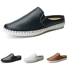 38-47 Mens Slingbacks Slippers Loafers Shoes Pumps Loafers Slip on Breathable L
