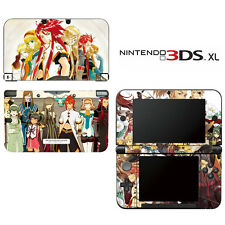 Vinyl Skin Decal Cover for Nintendo 3DS XL LL - Tales of the Abyss