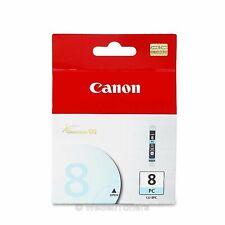 Canon CLI-8 Photo Cyan Ink Cartridge CLI-8PC 0624B002 Genuine New Sealed Box