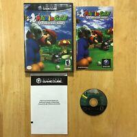 Mario Golf Toadstool Tour Nintendo GameCube Complete W/ Manual TESTED