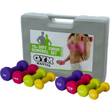 Dumbbell Weights Set Kit Aerobics Gym Class Workout Ladies Yoga Pilates 10kg