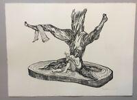 Pia Stadtbäumer, ohne Titel, Lithographie, 2007, handsigniert und datiert