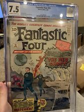 Fantastic Four 13 cgc 7.5 First Appearance Of The Watcher From What If Show🎥🍿