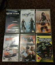PSP game bundle Of 5 Games + A film