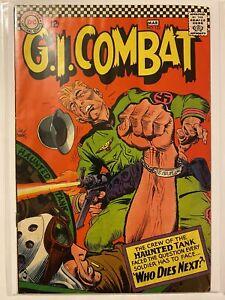G I Combat 122 DC Comics 1967 VG + 4.5 - 5.0 Joe Kubert Haunted Tank Crew
