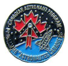 NASA PIN vintage CANADIAN Astronaut Program Space SHUTTLE Astronautes Canadi
