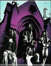 Black Sabbath Ozzy Osbourne Tony Iommi Geezer Butler 8 x 11 pin-up photo #2B
