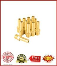 """New listing Brass 3/8"""" Barb X 1/4"""" Npt Male End Air Hose Pipe Fitting Threaded Connector Ada"""