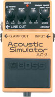 Used Boss AC-3 Acoustic Simulator Guitar Effects Pedal!