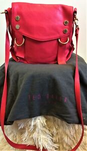 Ted Baker Coral Pink Leather CrossBody ALGON Bag