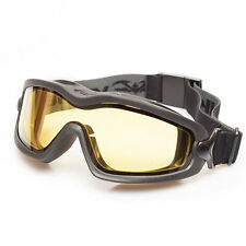 New Valken V-Tac Sierra Airsoft Air Soft Anti Fog Protective Goggles - Yellow