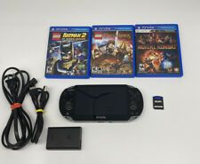PS Vita PCH-1001 3.73 FIRMWARE  8Gb Memory Card And Charger And Games