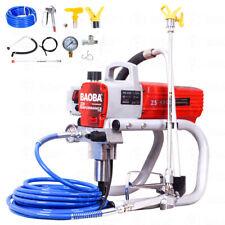 1500W 2HP High Pressure Airless Spray Paint Gun Sprayer Spraying Machine 220V