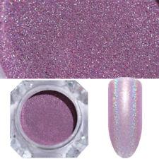 1g Holographic Nail Glitter Powder Nail Art Purple Laser Dust  Pigment