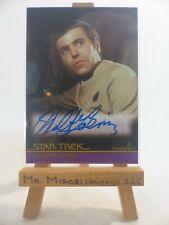 the Complete Star Trek Movies autograph card A30 Walter Koenig Lt. Chekov