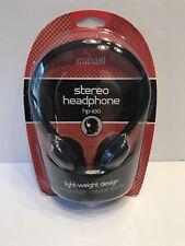 Maxell Stereo Headphone hp-100 Stereo Headphone Light Weight Design NEW