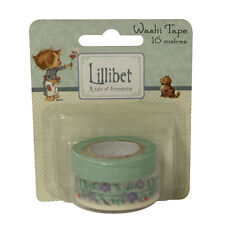 Beautiful Lillibet Washi Tape - Blues  for cards and crafts