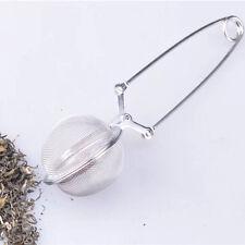 1 pc Acciaio inossidabile Tè infusore Filtro Palla per sciolto Foglia Tè Sliver
