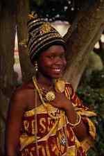 481072 Principessa BABA figlia di Fanti Chief Ghana Africa A4 FOTO STAMPA