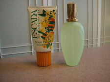 2Pc Escada Margaretha Ley Sunny Frutti Eau De Toilette Perfume + Body Lotion NEW