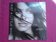 "Ultra Rare Vinyl, 12"" / Janet Jackson ‎– Just A Little While / S"