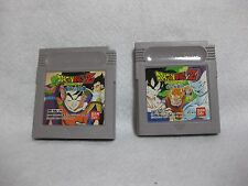 Lot 2 Dragon Ball Z Goku Hishouden & Gekitouden Game Boy JAPAN Nintendo