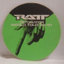 Ratt - Original Concert Tour Cloth Backstage Pass