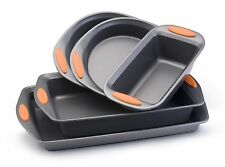 Rachel Ray 5 Piece Nonstick Cookware Set Bakeware Oven Pots & Pans Kitchen NEW