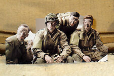 """""""Band of Brothers"""" World War 2 Tv Series Tabletop Standee 10 1/2"""" Long"""