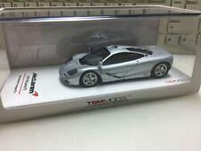 McLaren F1 Xp-3 1993 Experimental Prototype 1/43 Silver Truescale Model Car