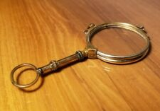 Beautiful Antique Gold Filled Magnifying Glass - Unique!