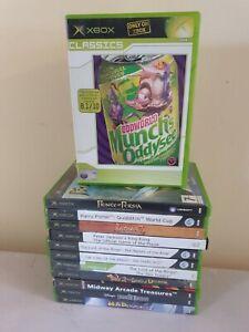 Xbox Original Games Bundle | 12 games | Tested | #55