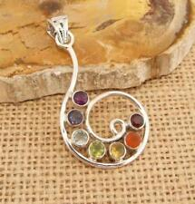 Pétale CHAKRA 925 Sterling Silver Ring Jewelry N-CP119